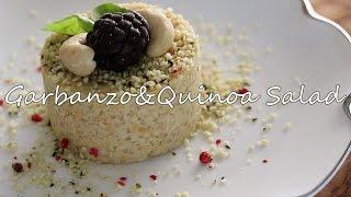 ひよこ豆とキヌアのポテトサラダ風【Superfoods】【Vegan】【Macrobiotic】