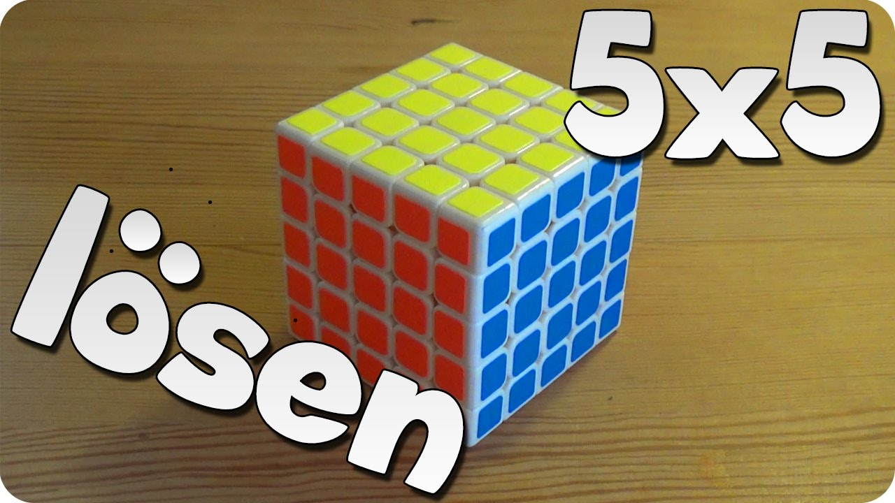 5x5 rubik 39 s cube zauberw rfel l sen anf ngermethode youtube. Black Bedroom Furniture Sets. Home Design Ideas