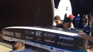 WARR Hyperloop Pod winning SpaceX Hyperloop Pod Competition