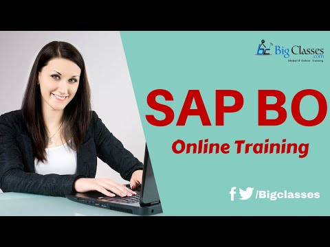 SAP BO 4.2 Online Training | SAP BO Universe Tutorials