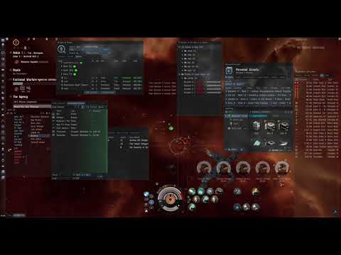 EVE-online The Rewards Of Devotion. Combat Blood Raider Expedition On Stratios | Final Location