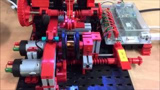 fischertechnik Spulen-Wickelmaschine