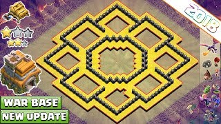 BEST Town hall 7 War Base 2018 | TH7 base Anti dragon, Anti Hog, Anti 3 star War Base - COC 2018