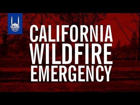 Islamic Relief USA - California Wildfire Emergency