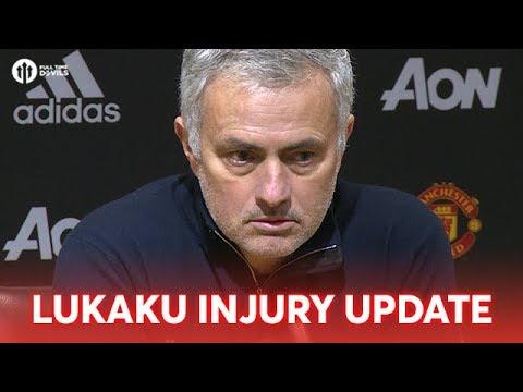 Jose Mourinho: Lukaku Injury Update FULL PRESS CONFERENCE Man United 0-0 Southampton