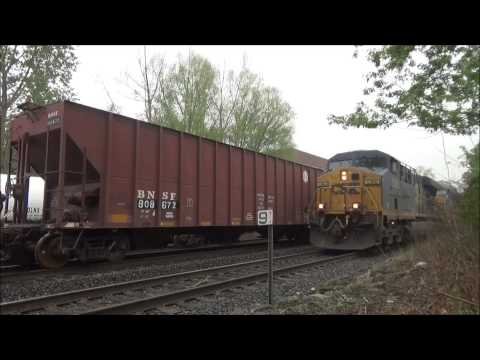 Railfanning CSX, NS and NYSW (5/4-5/10 2014) with NYC, BNSF, CEFX, CITX, MVCX, CP, UP, SOU and more!