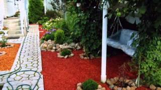 Мульчивирование в дизайне сада