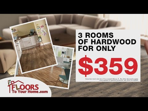 DIY Hardwood Flooring | Save Over 50% | In-Stock and Ready to Ship!