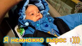 Поездка с Борей мл. к врачу. Его вес, рост + Стерилизация кошек. (12.17г.) Семья Бровченко.
