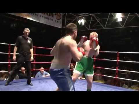 IBA Boxing - Gary McGinn v Mike Elliott - Circus Tavern