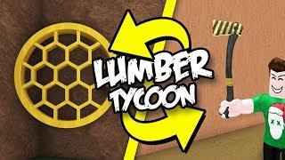 ARI AXE AND RED WOOD | Roblox English Lumber Tycoon 2