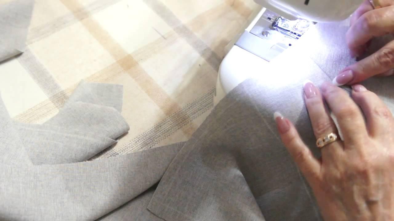 Как обработать карман юбки