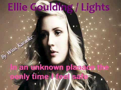 Lights acoustic instrumental karaoke - Ellie Goulding