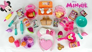 MINNIE MOUSE 54 Pcs Bowtastic  Kitchen Accesory Deluxe Play Set