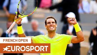 Best Of: Rafael Nadal   Roland Garros 2019   Eurosport