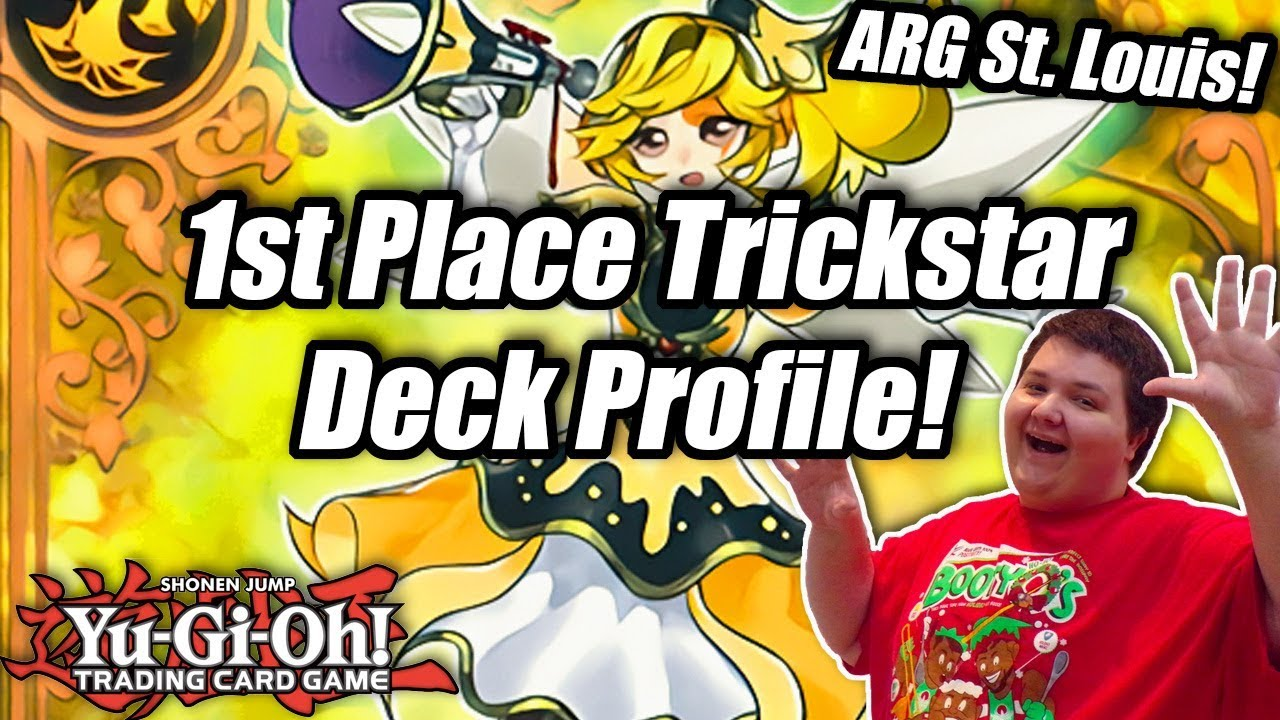 Yu-Gi-Oh! 1st Place Trickstar Deck Profile! ft  Joel White!