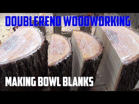 Making Woodturning  Bowl Blanks
