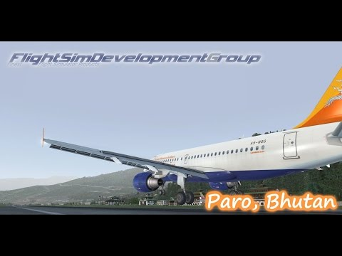 FSDG Paro International Airport Bhutan