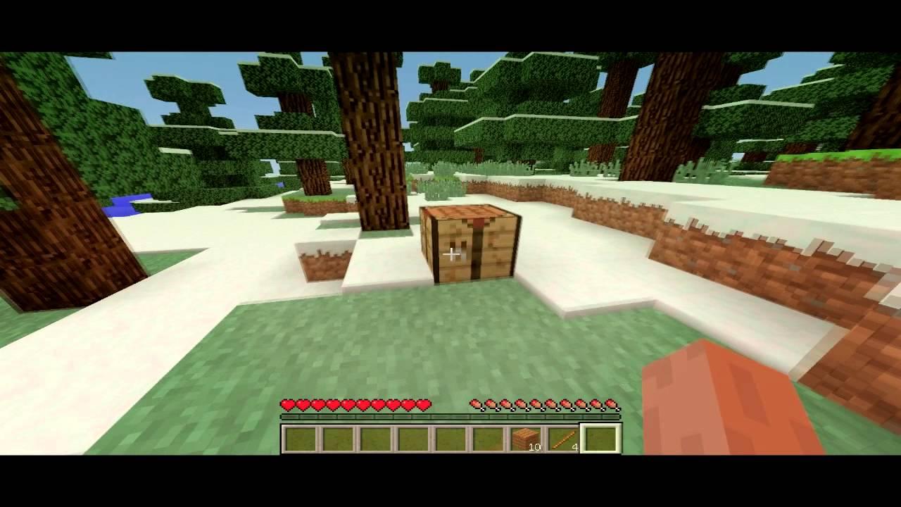 Minecraft видео как сделать кирку фото 482