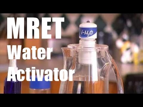 MRET Water Activator (GIA iH2O Activation System)