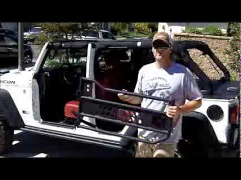 Aries Automotive Tube Doors 2013 Jeep Wrangler Rubicon
