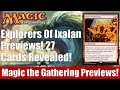 MTG Explorers of Ixalan Previews! 27 Cards Revealed!