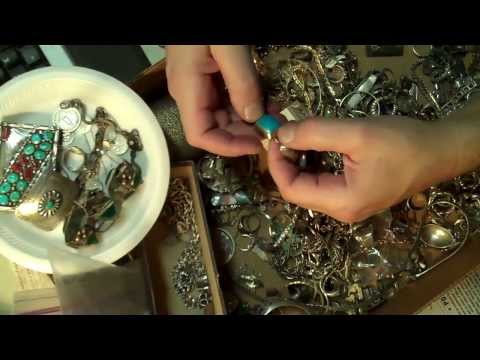 Sterling jewelry tips pickers scrap antique art old Taxco Native Gold applied parts other outlets ne