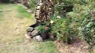 Garden Water Wheel