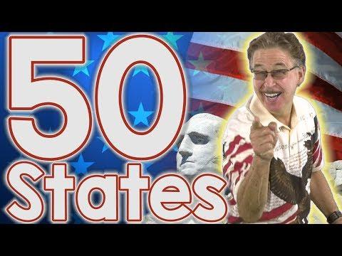 Sing The States   50 States Song   Jack Hartmann