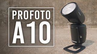 Profoto A10: A Studio Light You Can Use with Your iPhone! | First Look