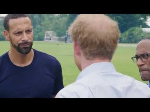 Thumbnail: Heads Together | Rio Ferdinand Talks To Prince Harry About His Struggle Losing His Wife & Support