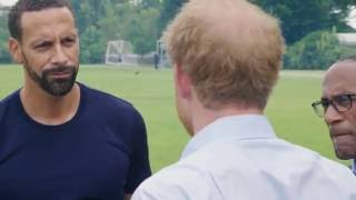 Heads Together | Rio Ferdinand Talks To Prince Harry About His Struggle Losing His Wife & Support