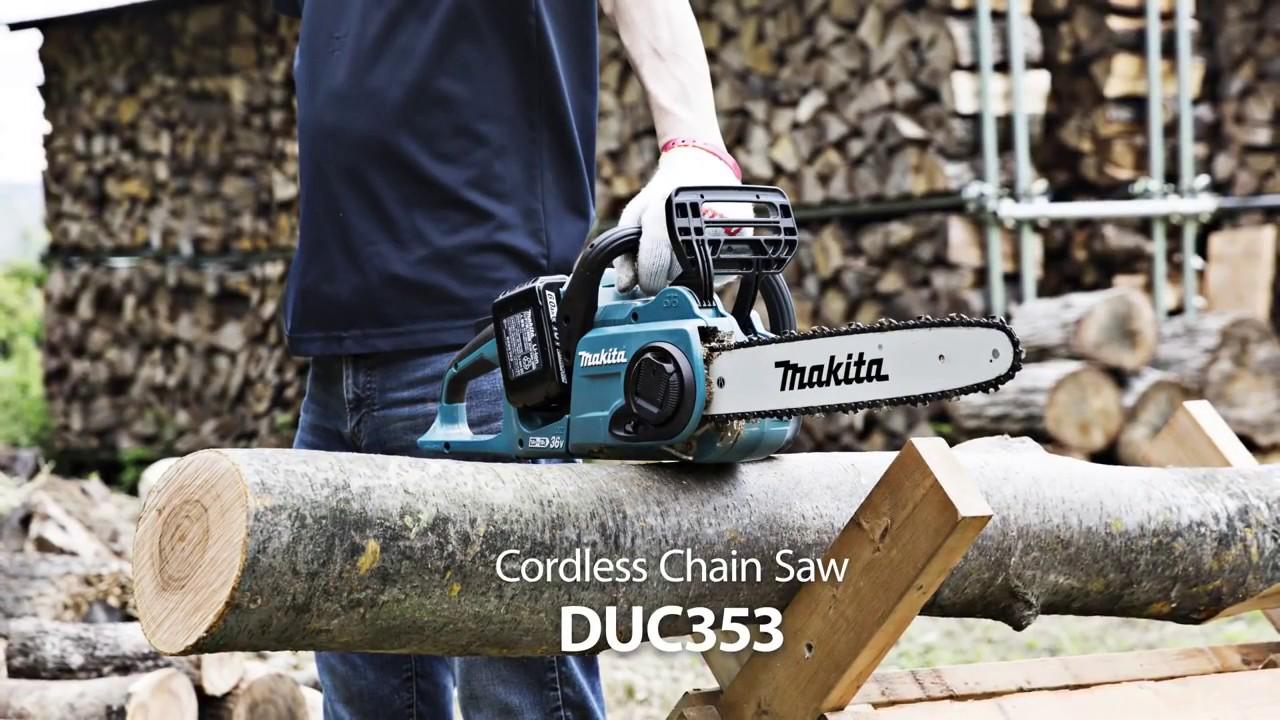 """Résultat de recherche d'images pour """"Makita Duc353z review"""""""