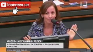 Marco Feliciano HUMILHA deputada comunista que se diz cristã!