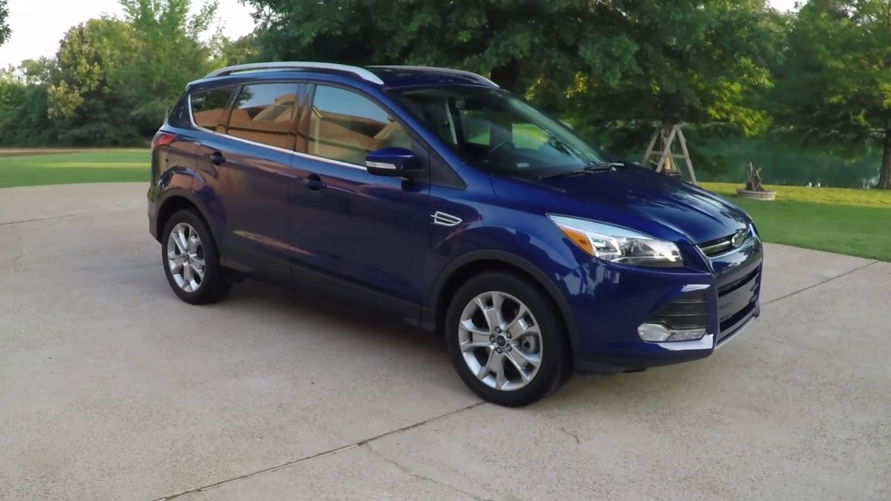 West tn 2014 deep impact blue 2014 ford escape titanium nav sunroof ecoboost for sale info www sunse
