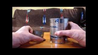Super Easy DIY Wood Gas Camp Stove