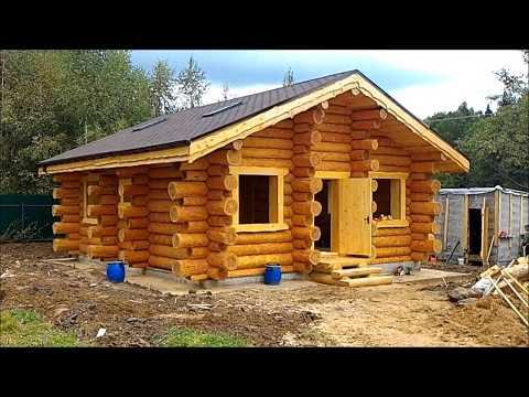 ОЦЕНИВАЙТЕ отделочные и чистовые работы в деревянном доме из бревна от Терем-Град в д. Истомино.