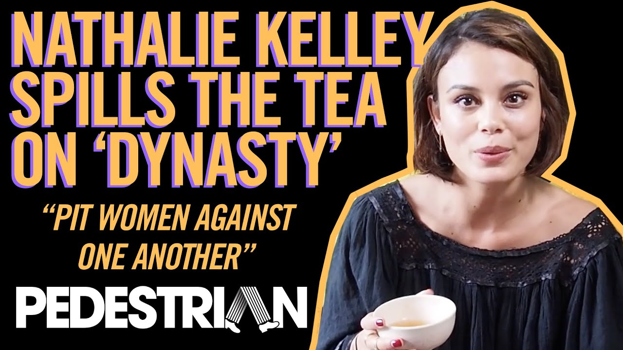 We Spill The Tea With Nathalie Kelley From 'Dynasty'