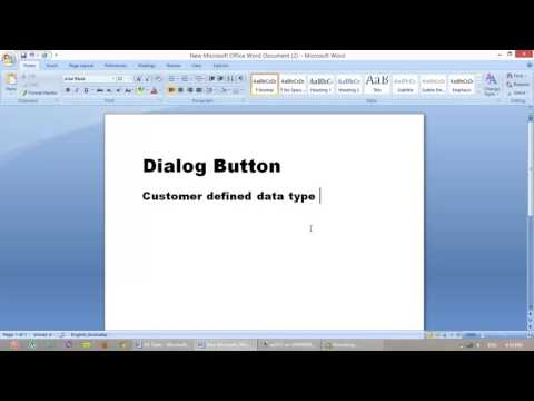Create Dialog Button  Info,Box in ax 2012