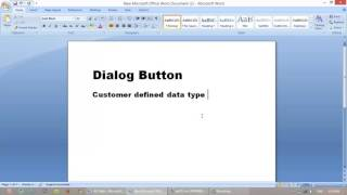 Create Dialog Button Info-Box in ax 2012