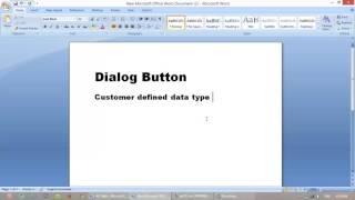 إنشاء مربع الحوار زر معلومات في مربع ax 2012