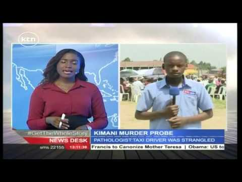 Newsdesk Full Bulletin 7th June 2016 - Kimani Murder Probe