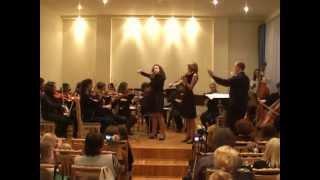 Vivaldi - Concerto For 2 Violins In D Minor, RV 514 P.2 And 3