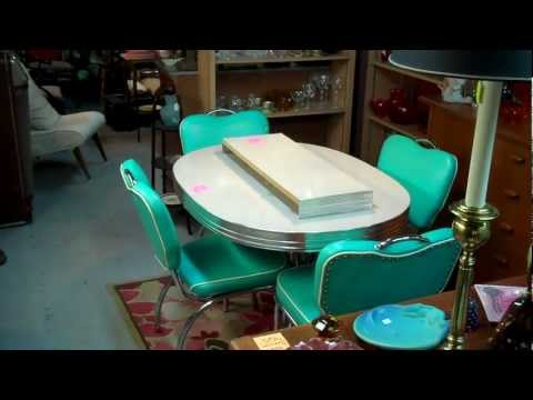 1950's Retro Dining Set at The Swap Shop Antique Store