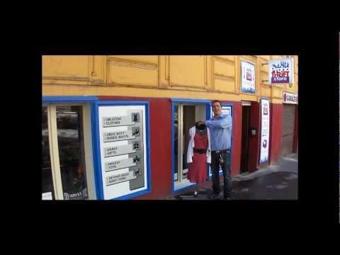 Thriftshop in Prague - treasure hunting trip - Prague Thrift Store