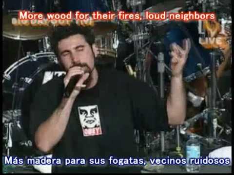 Toxicity - System of a down // Subtitulado Inglés - Español (Live)