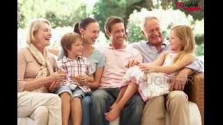 English Vocabulary - Family, английские слова на тему семья