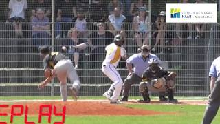 Nateshon Thomas homers vs. Bonn Capitals