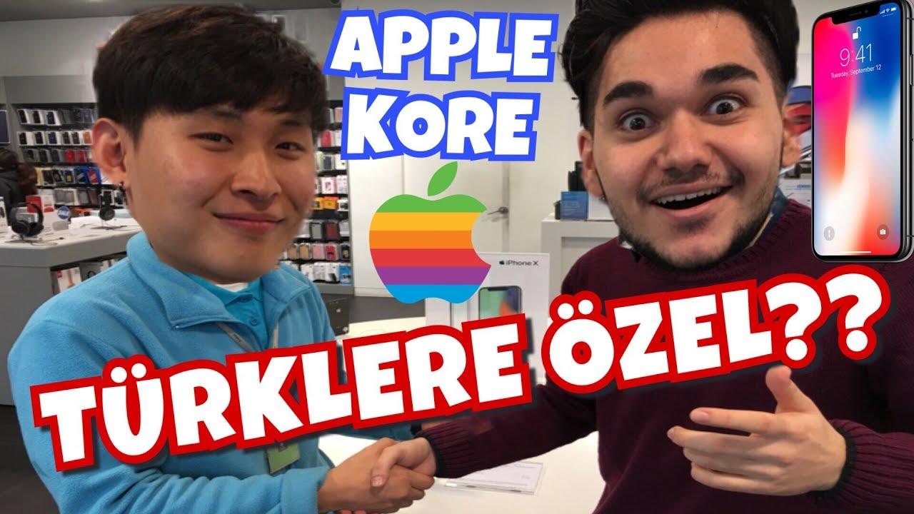 Kore'de APPLE Fiyatları! TÜRKLERE YARI FİYAT? Apple iPhone X Kaç Lira?