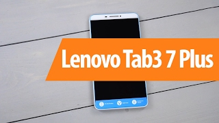 распаковка Lenovo Tab3 7 Plus / Unboxing Lenovo Tab3 7 Plus